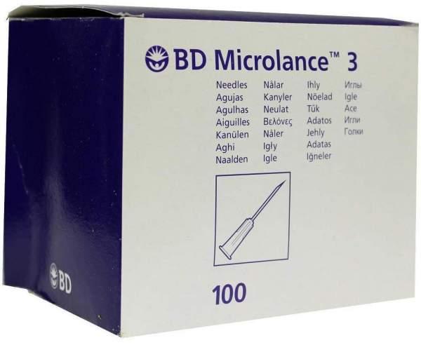 Bd Microlance Kanüle 20 G 1 1-2 0,9x40 mm