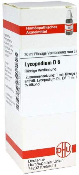 Dhu Lycopodium D6 20 ml Dilution