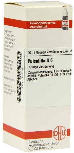 Pulsatilla D 6 20 ml Dilution