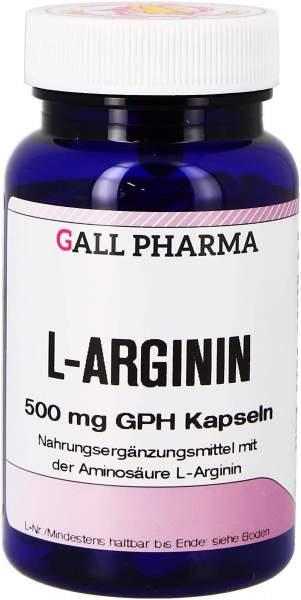 L-Arginin 500 mg Gph 160 Kapseln