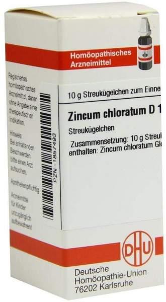 Zincum chloratum D12 DHU 10 g Globuli