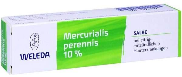 Weleda Mercurialis Perennis 10% 25 G Salbe