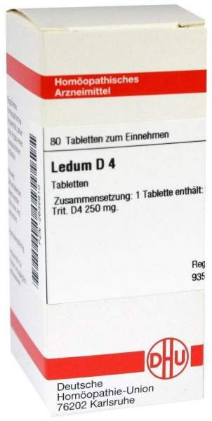 Ledum D4 Tabletten 80 Tabletten