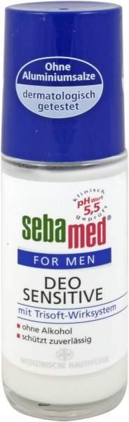 Sebamed For Men Deo Sensitiv 50 ml Roll - On Deodorant Ohne...