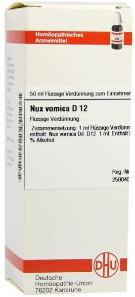 Nux Vomica D 12 50 ml Dilution