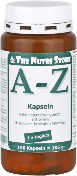 A - Z Multivitamin Mineralstoff 150 Kapseln