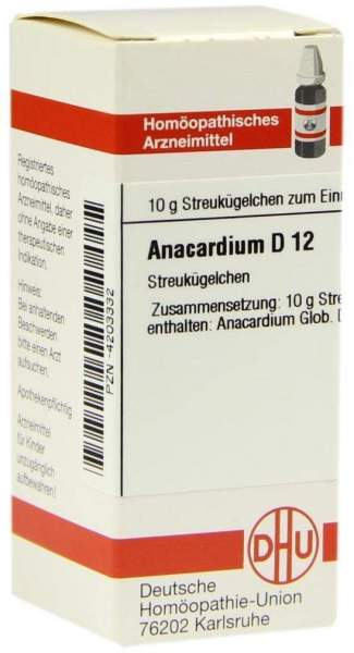 Anacardium D12 Dhu 10 G Globuli