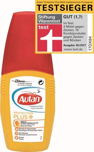 Autan Protection Plus Pumpspray 100ml