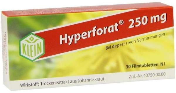 Hyperforat 250 mg 30 Filmtabletten