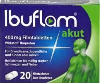 Ibuflam akut 400 mg 20 Filmtabletten