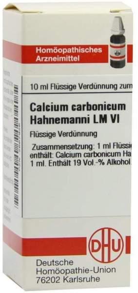 Dhu Calcium Carbonicum Hahnemanni Lm Vi Dilution