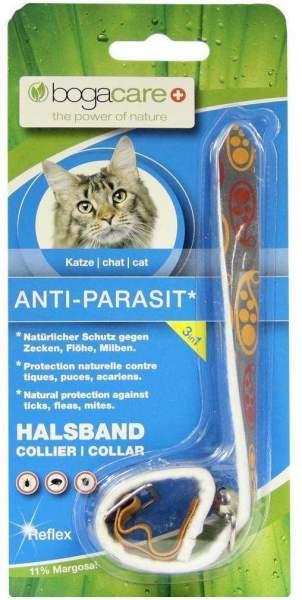 Bogacare Anti-Parasit Vlies Halsband Reflex Katze 1 Halsband