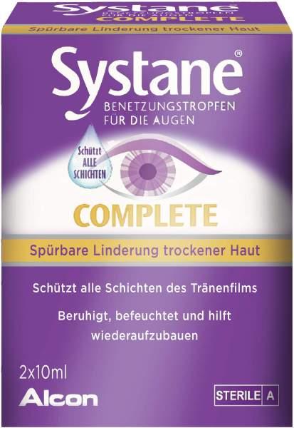 Systane Complete Benetzungstropfen 2 x 10 ml Augentropfen