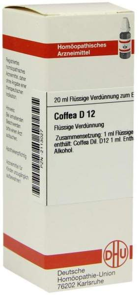 Coffea D12 20 ml Dilution