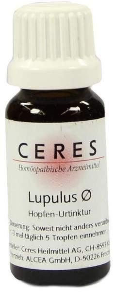 Ceres Lupulus Hopfen-Urtinktur 20ml