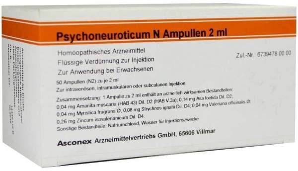 Psychoneuroticum N 50 X 2 ml Ampullen