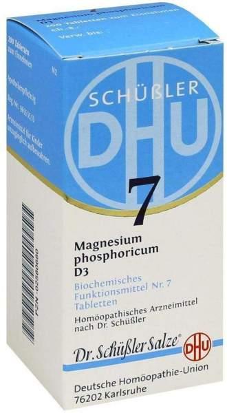 Biochemie Dhu 7 Magnesium Phosphoricum D3 200 Tabletten