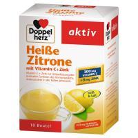 Doppelherz Heiße Zitrone Vitamin C + Zink Granulat 10 Stück