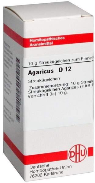 Agaricus D 12 Globuli