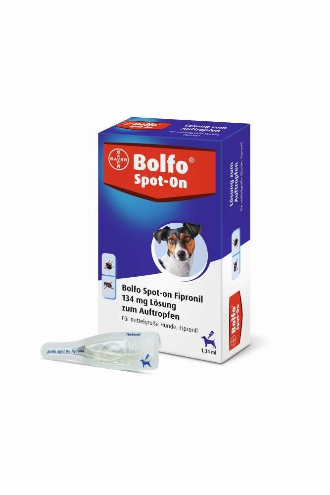 Bolfo Spot On für mittelgroße Hunde bis 20kg