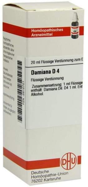 Damiana D4 20 ml Dilution