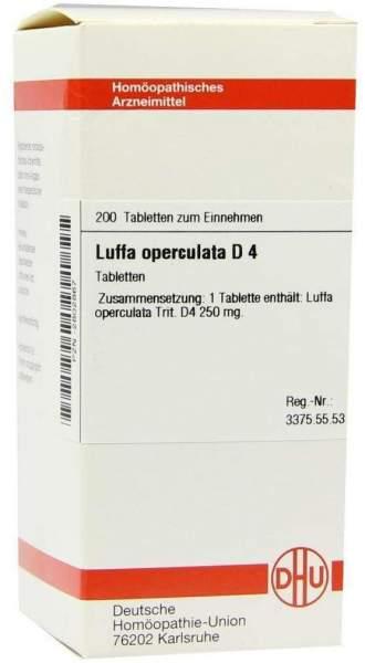 Luffa Operculata D4 200 Tabletten