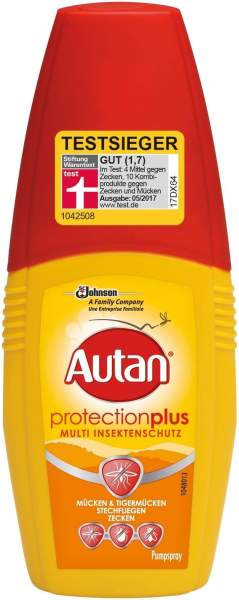 Autan Protection Plus Pumpspray 100 ml