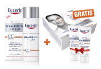Eucerin AA Hyaluron Filler CC Cream mittel + gratis Geschenkverpackung 2x7ml hell und mittel