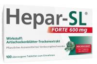 Hepar-SL forte 600 mg 100 überzogee Tabletten