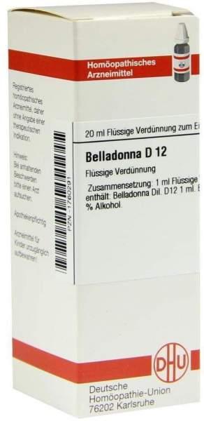 Belladonna D12 20 ml Dilution
