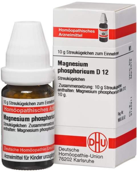 Magnesium phosphoricum D12 10 g Globuli