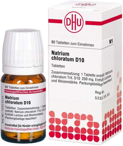Natrium Chloratum D 10 Tabletten