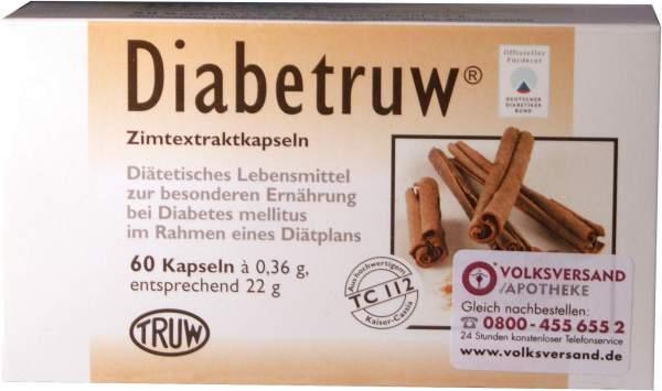 Diabetruw 60 Zimtkapseln