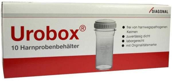 Uro Box Behälter für Urin 10 Stück
