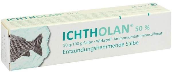 Ichtholan 50% 25 g Salbe