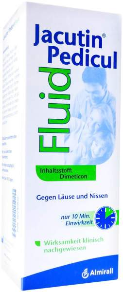 Jacutin Pedicul 200 ml Fluid Mit Nissenkamm