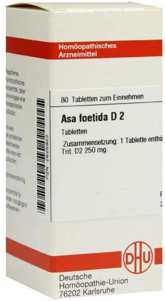 Asa Foetida D 2 Tabletten