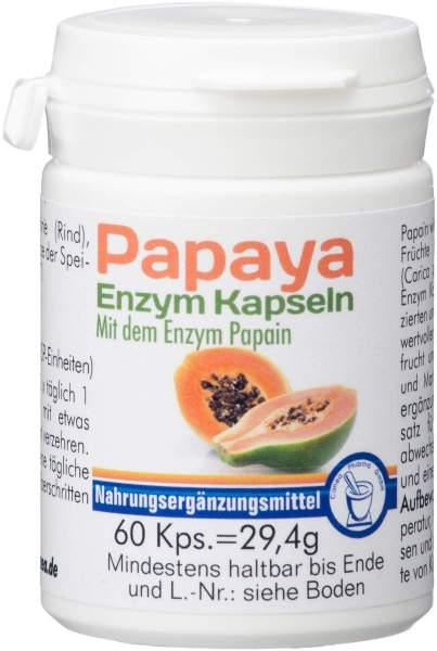 Papaya Enzym 60 Kapseln