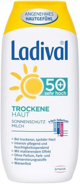 Ladival trockene Haut LSF50+ 200 ml Milch