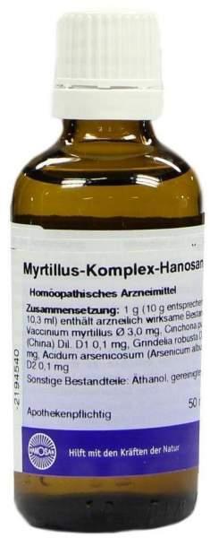 Myrtillus Komplex 50 ml Flüssigkeit