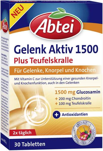 Abtei Gelenk Aktiv 1500 30 Tabletten
