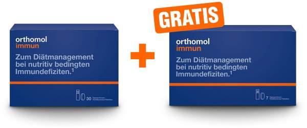 Orthomol immun Trinkampullen-Tabletten 30 Stück + gratis 7 Trinkampullen-Tabletten