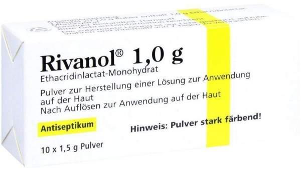 Rivanol 1,0 G Pulver 10 Stück