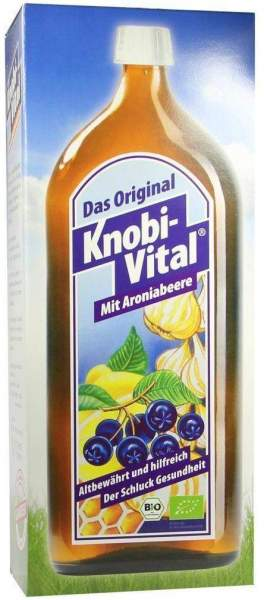 knobivital mit aroniabeere bio 960 ml flasche kaufen volksversand versandapotheke. Black Bedroom Furniture Sets. Home Design Ideas