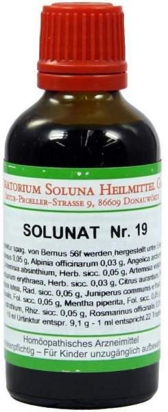 Solunat Nr.19 50 ml Tropfen