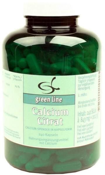 Calciumcitrat 240 Kapseln