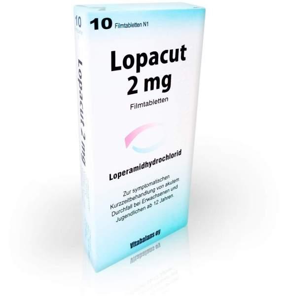 Lopacut 2 mg 10 Filmtabletten