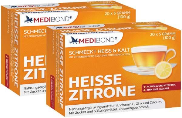 Heiße Zitrone Medibond 2 x 20 Beutel