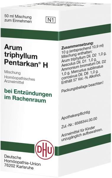 Arum Triphyllum Pentarkan H 50 ml Dilution