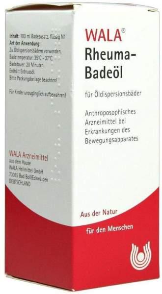Wala Rheuma Badeöl Für Öldispersionsbäder 100 ml Öl
